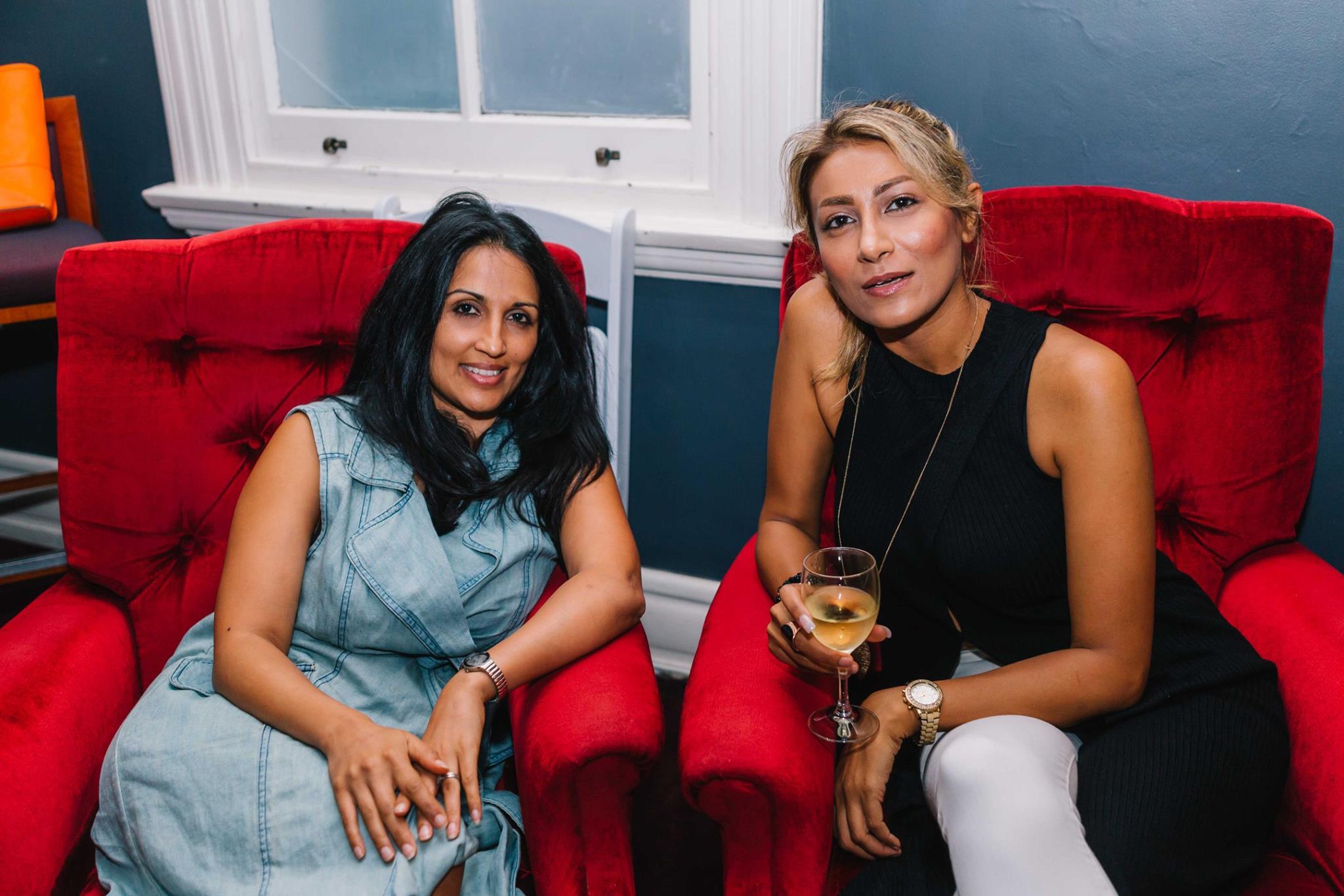 Two very special mamas including previous Creative Mama Evening presenter Nazanin Sabzpoori