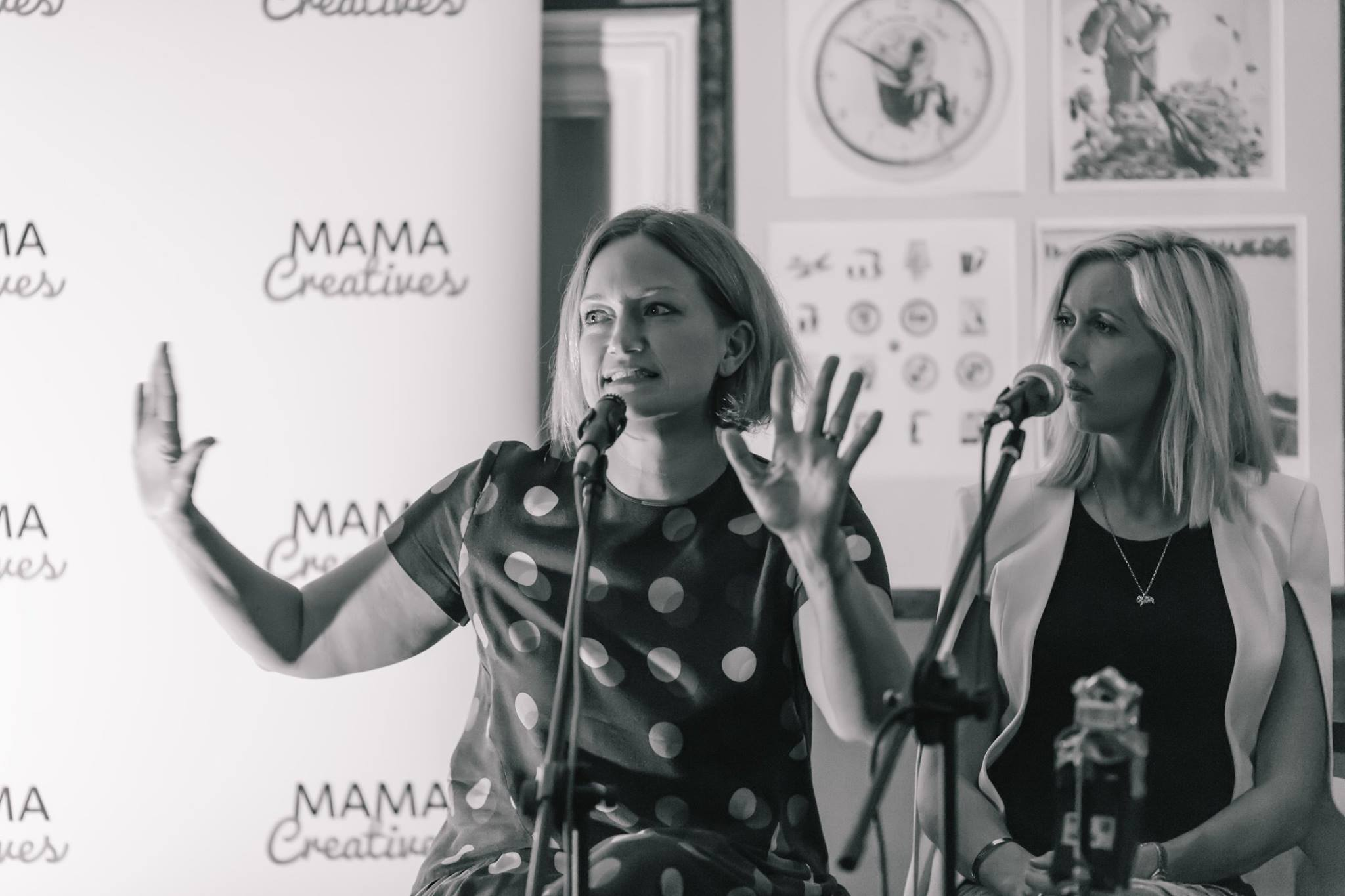 The totally inspiring Alexx Stuart, founder of Low Tox Life in action, at our Mama Creatives Expert Blogger Panel