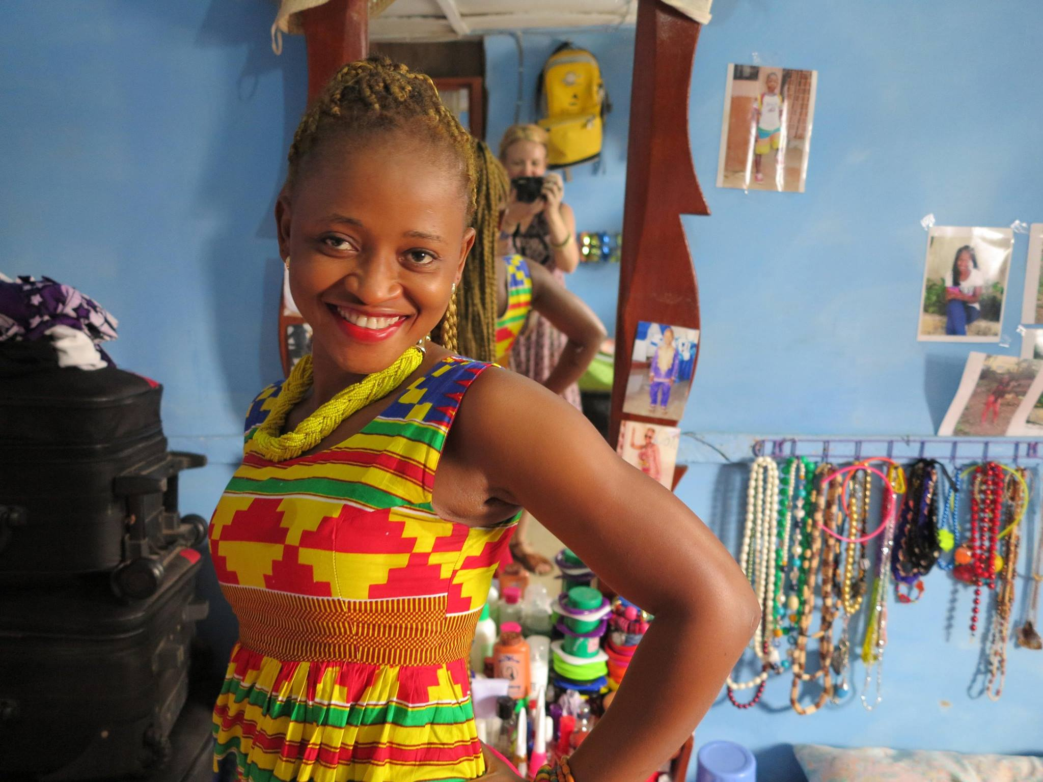 Watch Jo Dunlop's amazing 6 part documentary series, 'Freetown Fashpack' on ABC iview.