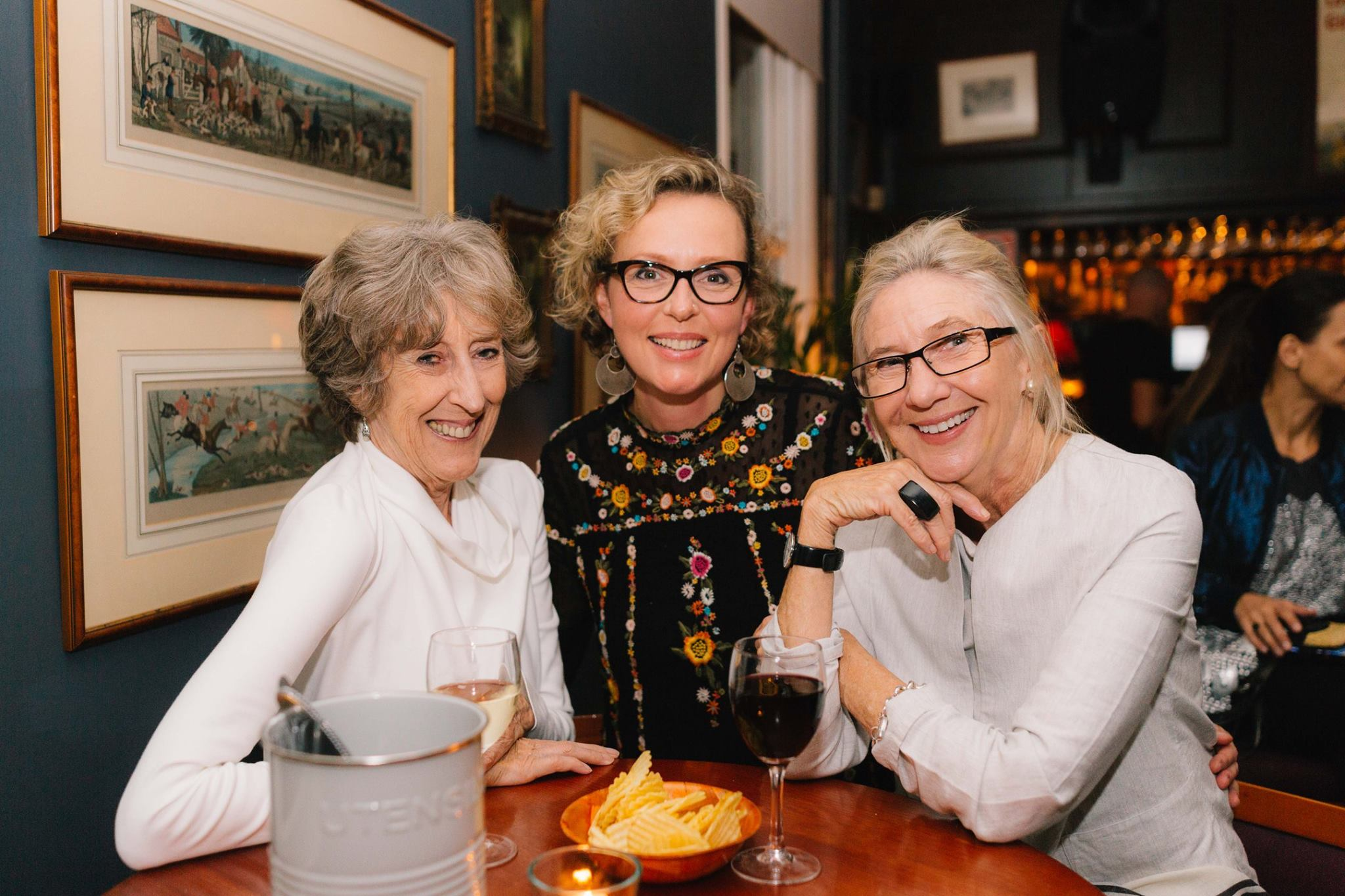 Trio of talented creative mamas, at our Mama Creatives Evening Talk.