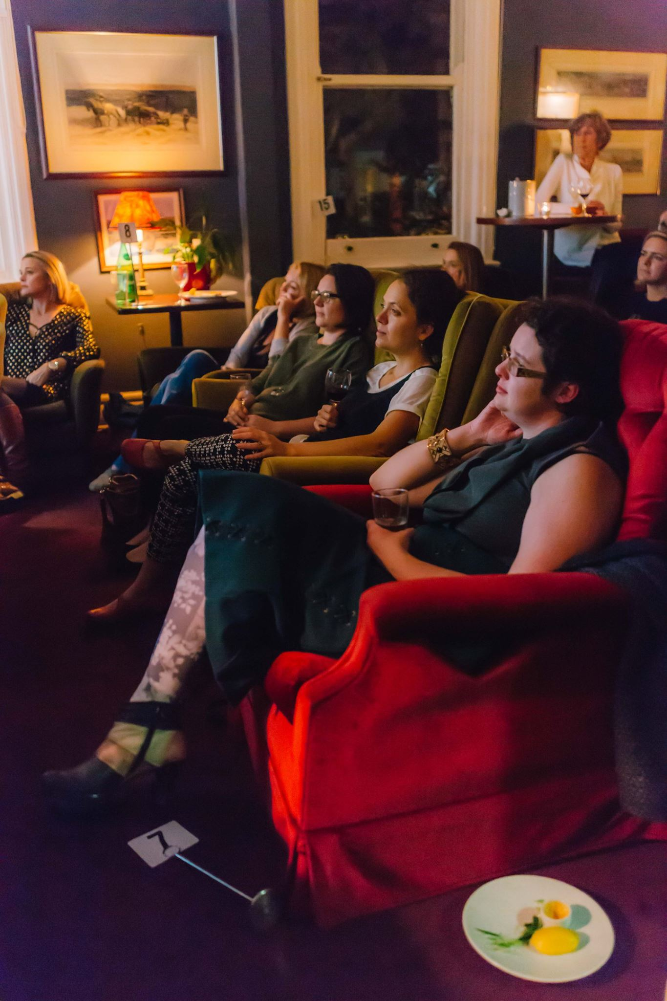 Enthralled, at our Mama Creatives Evening Talk.