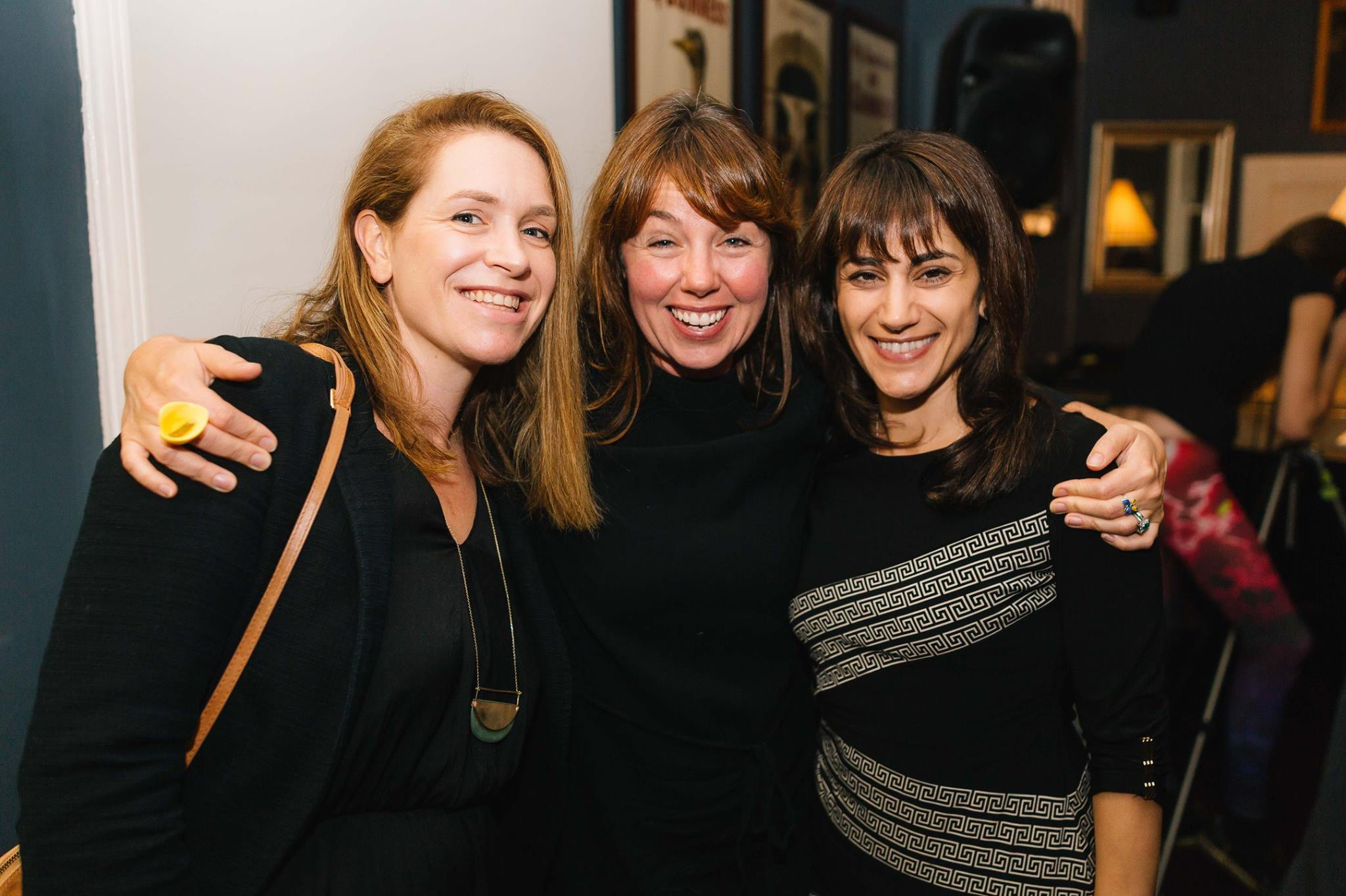 Trio of talented creative mamas, at our Mama Creatives Evening Talk, 'Creativity, Confidence & Pushing your Comfort Zones' featuring Aura Parker.