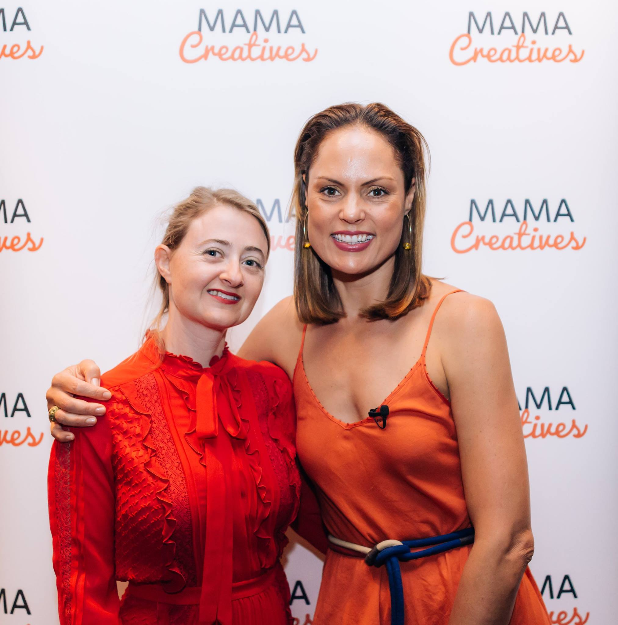 With the truly inspiring Zoe Bingley-Pullin, chef, nutritionist, TV presenter and author of the fabulous cookbook 'Falling in Love with Food', who brought love and warmth to our Mother's Day Celebration.