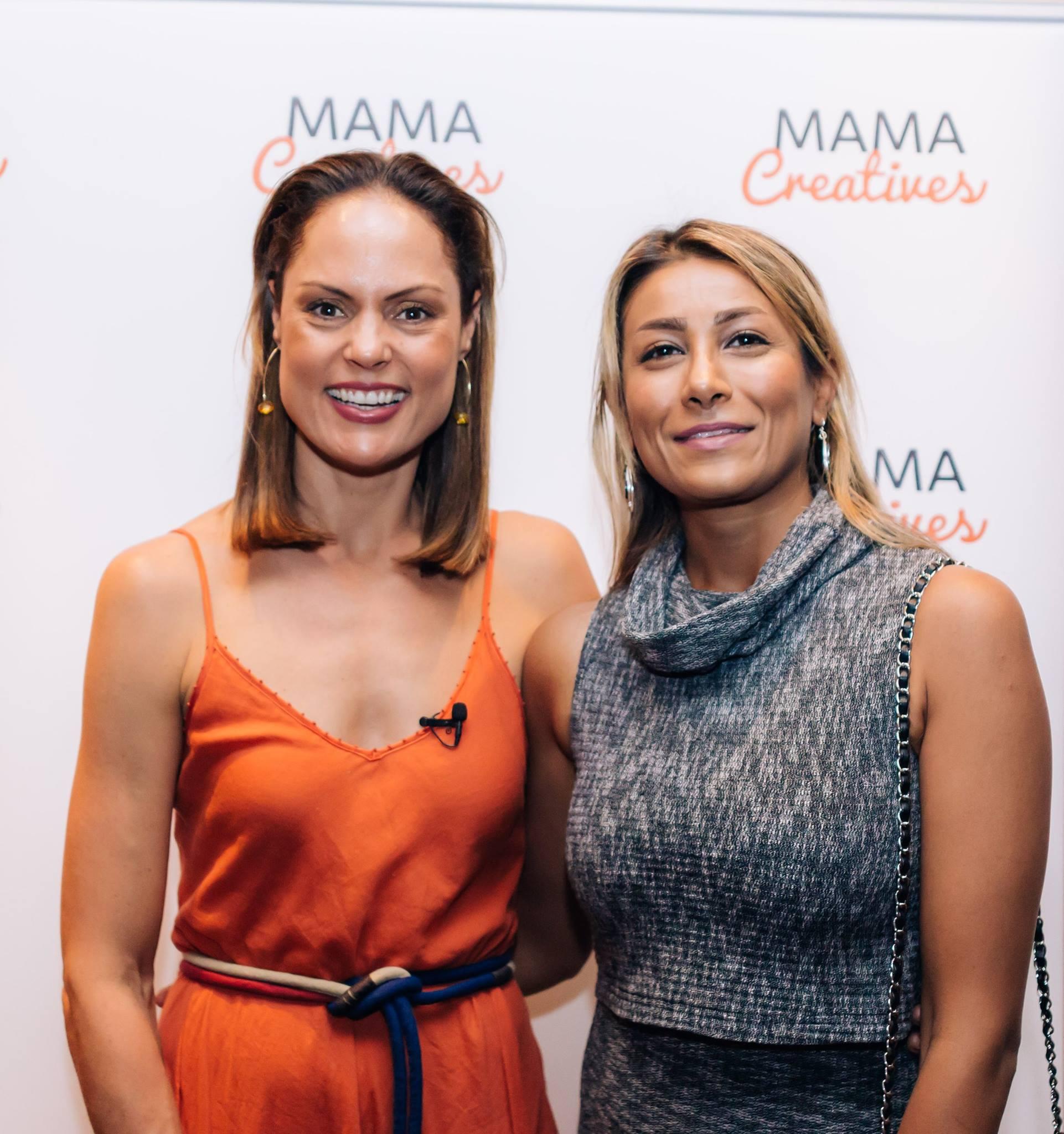 Two incredible mamas! Our featured Mother's Day guest Zoe Bingley-Pullin, chef, nutritionist & TV presener with our previous Creative Mama Evening Talk presenter, the incredible Nazanin Sabzpoori, Iranian carpet weaver.