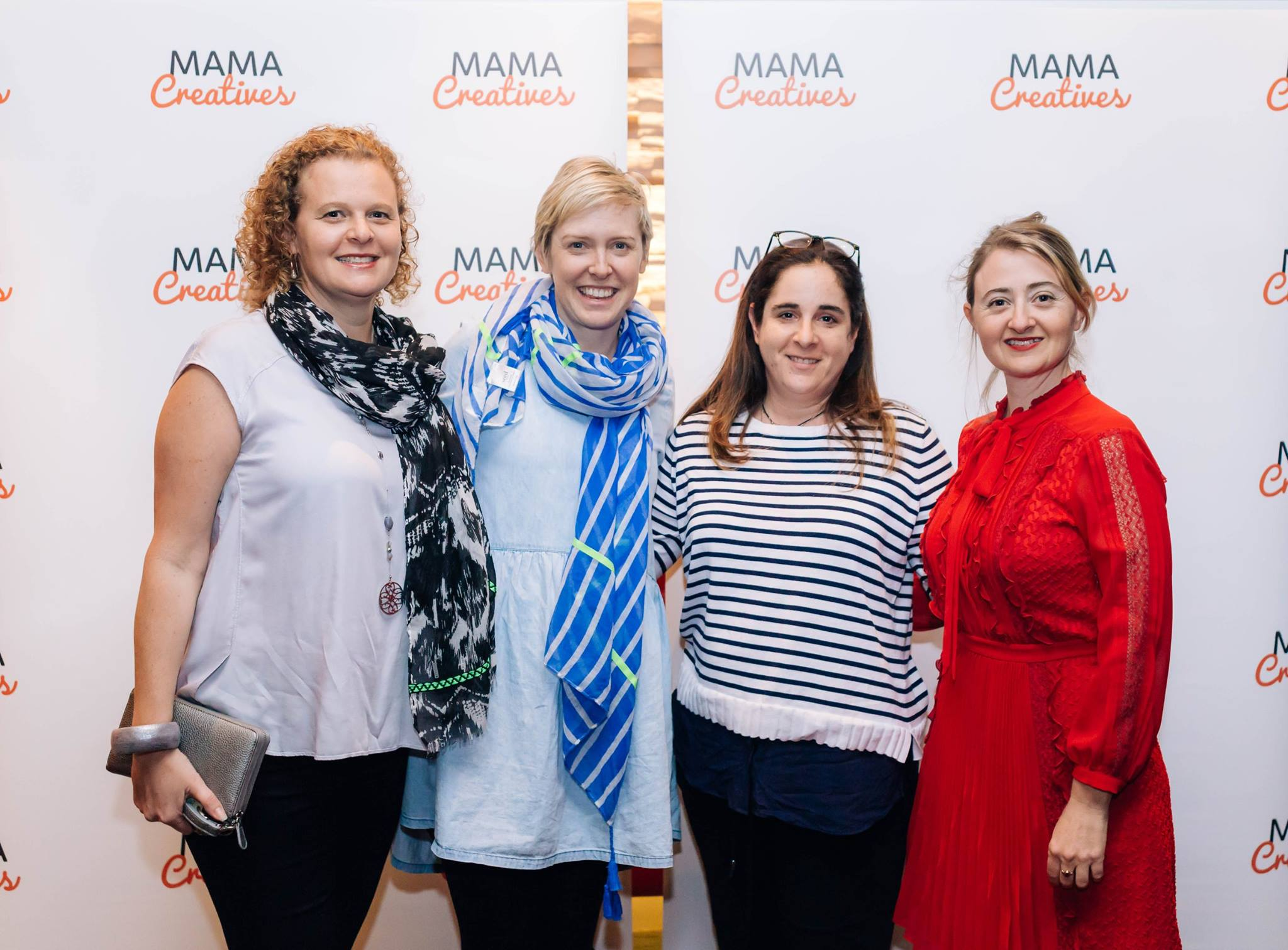 Hanging out with talented creative mamas who enjoyed our inspiring Mama Creatives Mother's Day Celebration.