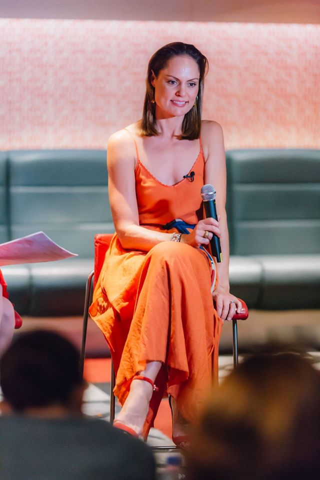 Our truly wonderful creative mama guest Zoe Bingley-Pullin at our Mama Creatives Mother's Day Celebration, who was so open and down to earth as she shared poignant experiences from her life which have led to her creative fulfillment.