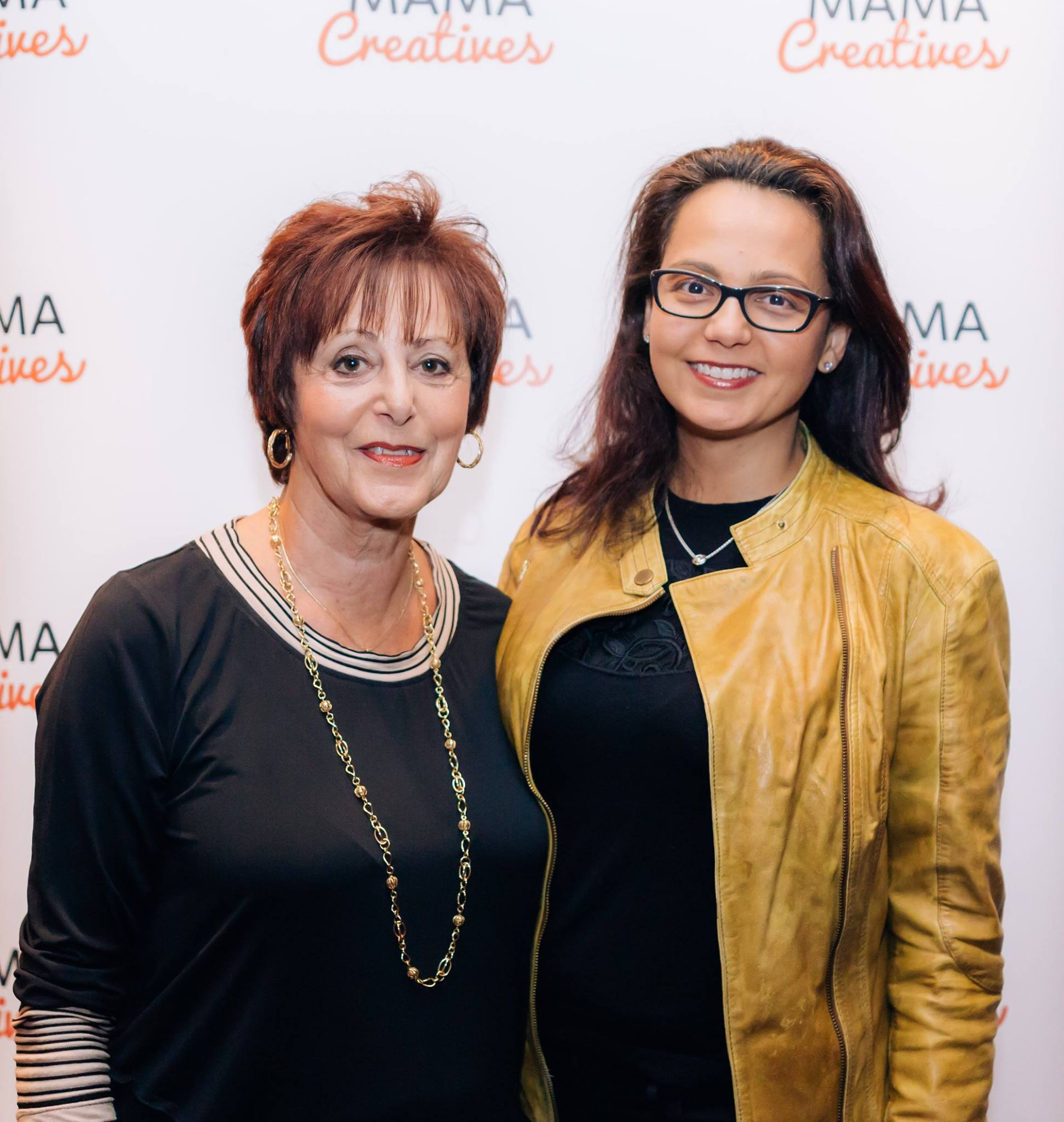 Beautiful mother/daughter mamas who enjoyed our inspiring Mama Creatives Mother's Day Celebration.