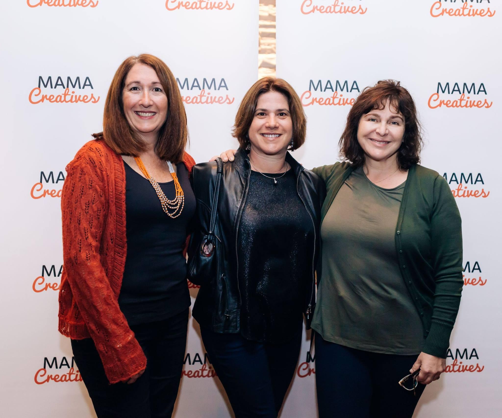 Three fabulous mamas who enjoyed our inspiring Mama Creatives Mother's Day Celebration with Zoe Bingley-Pullin.