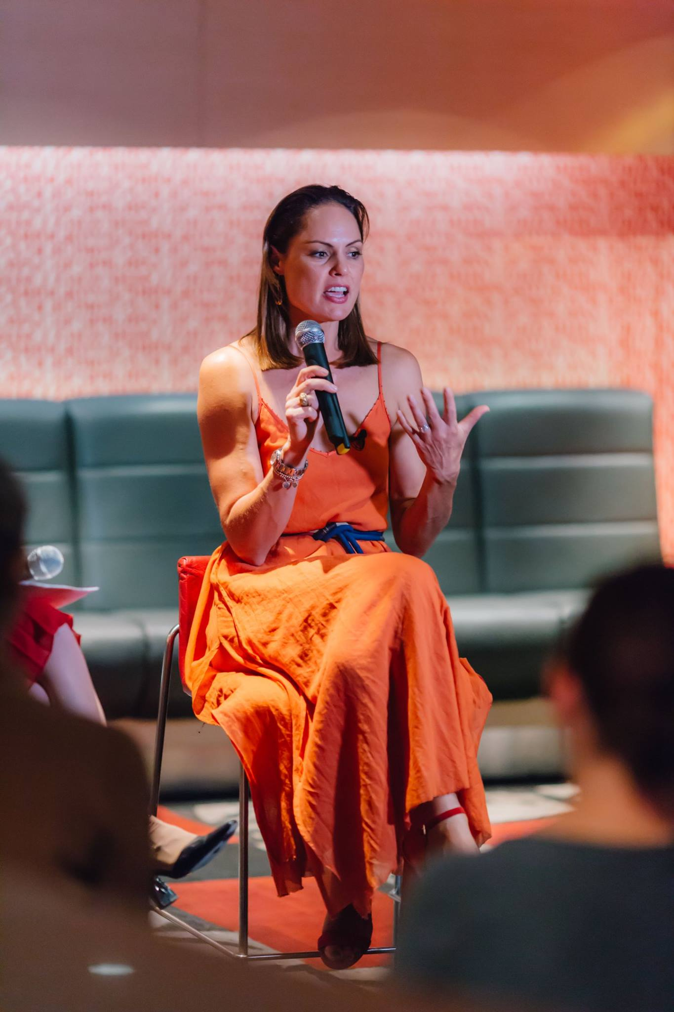 The truly wonderful Zoe Bingley-Pullin in action. Zoe inspired the whole room at our Mama Creatives Mother's Day Celebration as she shared wisdom and experiences from her life which have led to her being creatively fulfilled as a chef, nutritionist, TV presenter, author and mama.