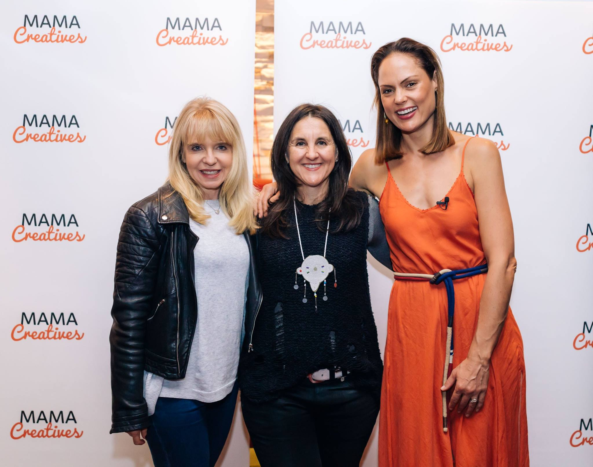 Jan and Tracey Fittinghoff Hayim, founder of Live Love Learn, hanging out on the red carpet with our inspiring Mother's Day guest mama, Zoe Bingley-Pullin.