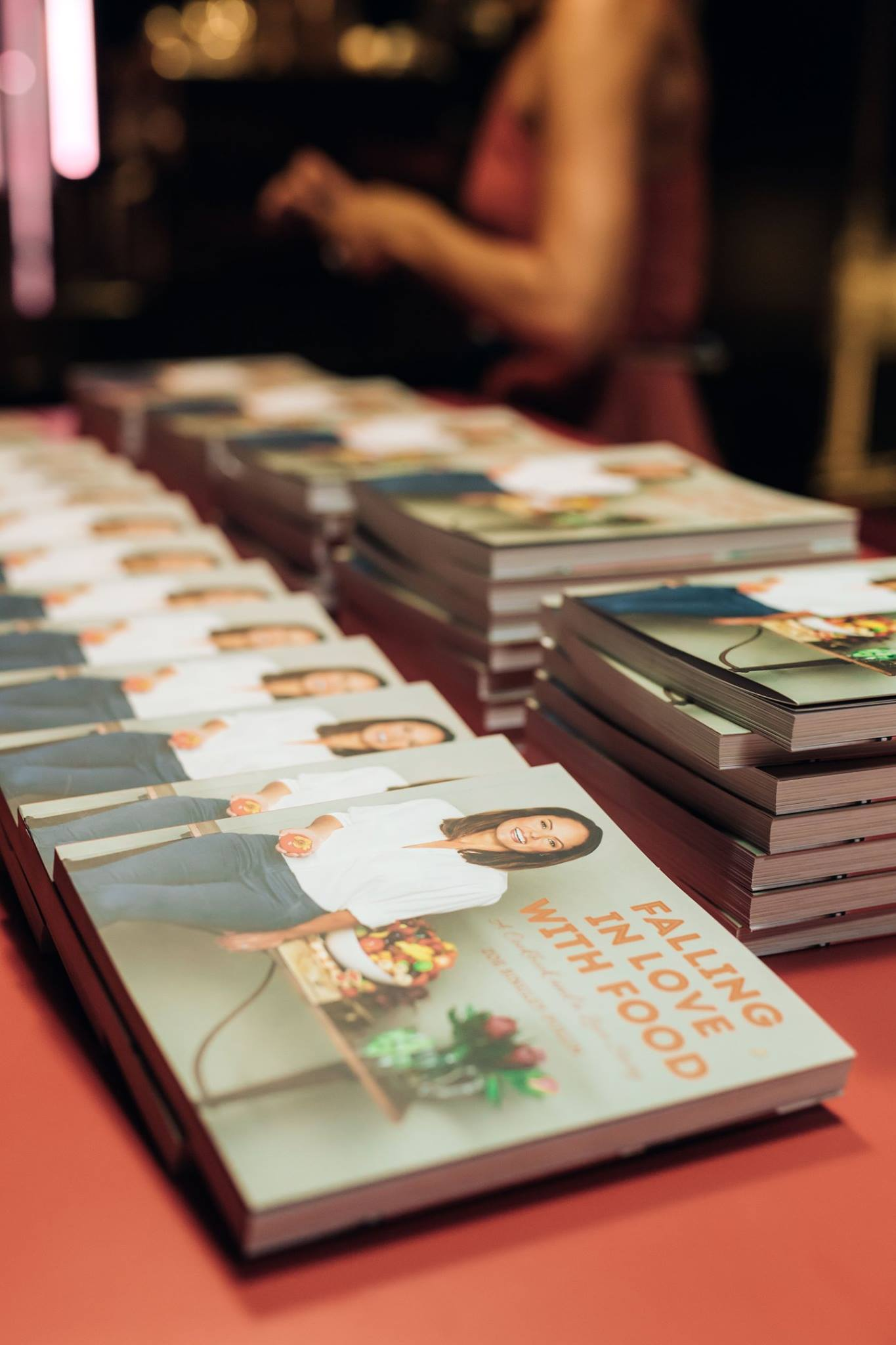 Every mama who came along to our Mama Creatives Mother's Day Celebration with Zoe Bingley-Pullin received a copy of Zoe's latest cookbook, 'Falling in Love with Food'.