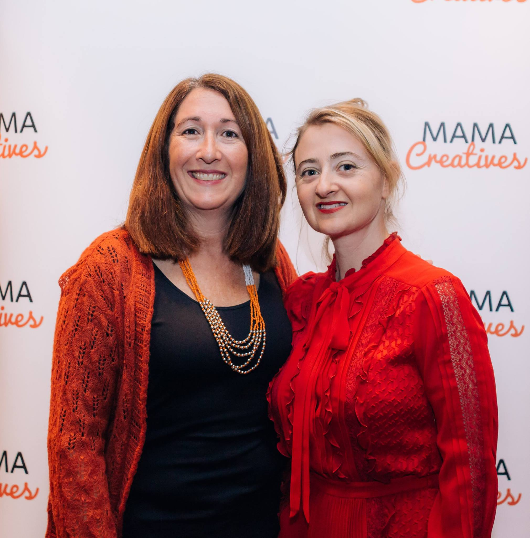 With a very special mama, at our inspiring Mama Creatives Mother's Day Celebration with Zoe Bingley-Pullin, chef, nutritionist, TV presenter and author of the fabulous cookbook 'Falling in Love with Food'.