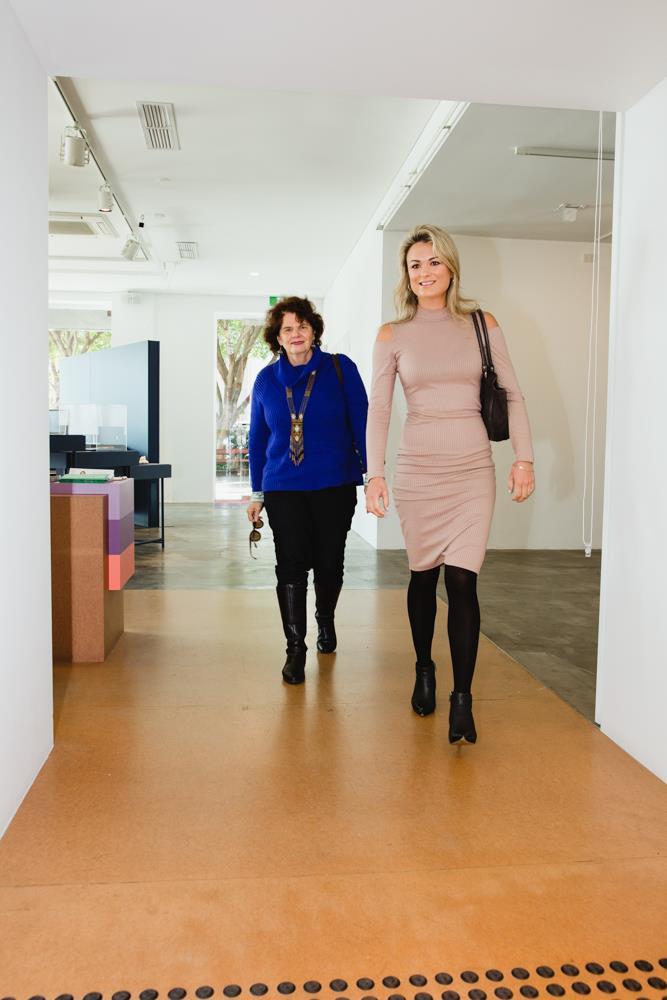 Two entrepreneurial creative mamas, Karla and Lauren.