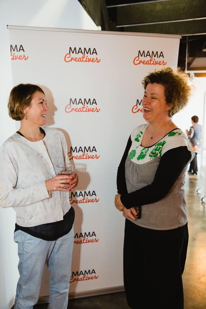 Two amazing creative mamas, Emily Joyce and Alix Fiveash.