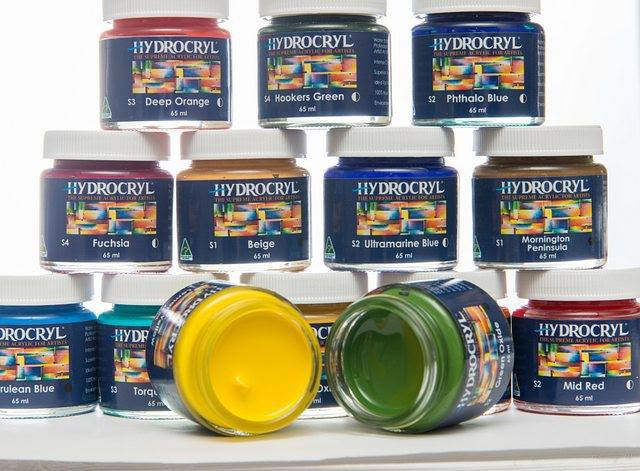 Thank you to our creative friends at Hydrocryl Paints who make the best quality single pigmented acrylic paint, and also support Mama Creatives to help make our events so special.   https://hydrocryl.com.au/