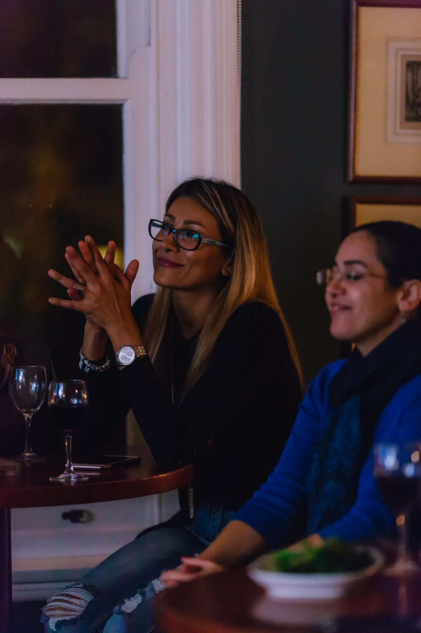 Captivated, at our Creative Mama Evening Talk, 'The Power of Creativity During Times of Adversity' featuring artist Jasmine Mansbridge.