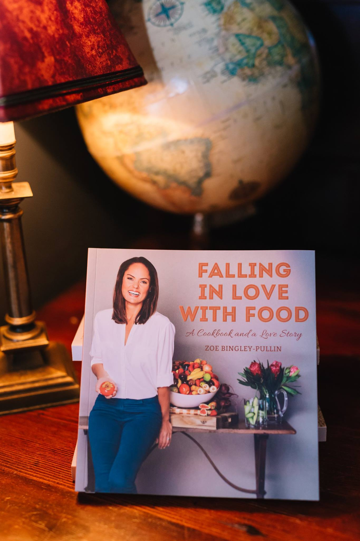 'Falling in Love With Food', written by our Mother's Day mama presenter Zoe Bingley-Pullin, and one of our special giveaways at our special evening talk with Jasmine Mansbridge. It is such a refreshing cook book, encouraging and accessible in this world of food limitations and restrictions.  http://zoebingleypullin.com/