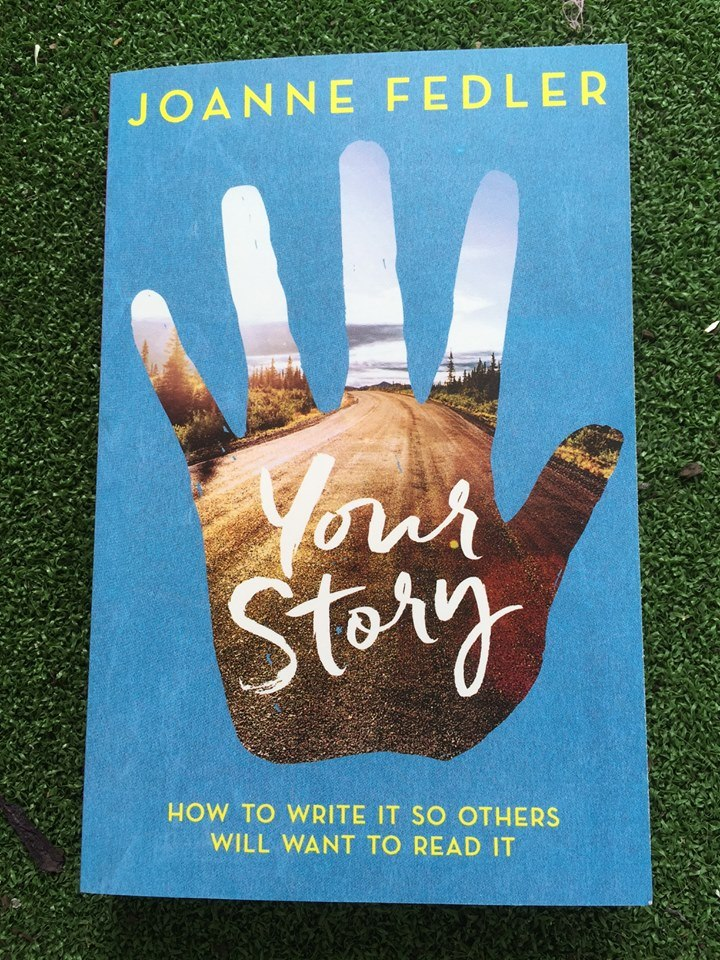 Thank you to the irrepresible creative mama, author and writing mentor Joanne Fedler, for generously giving away her latest book, 'Your Story'.