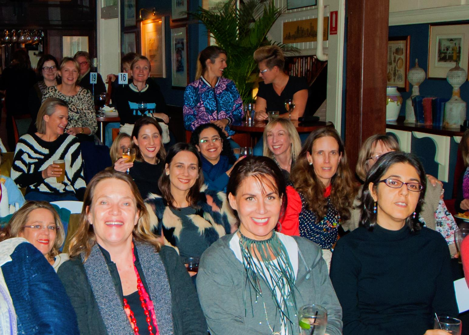 At our recent evening talk, a packed room of creative mamas were mesmerised by our featured mama guest, Pauline Nguyen Speaks.