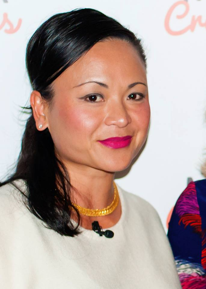 The absolutely magnificent Pauline Nguyen Speaks, writer, restauranteur, spiritual entrepreneur & mentor. who wowed a roomful of creative mamas at our Evening Talk