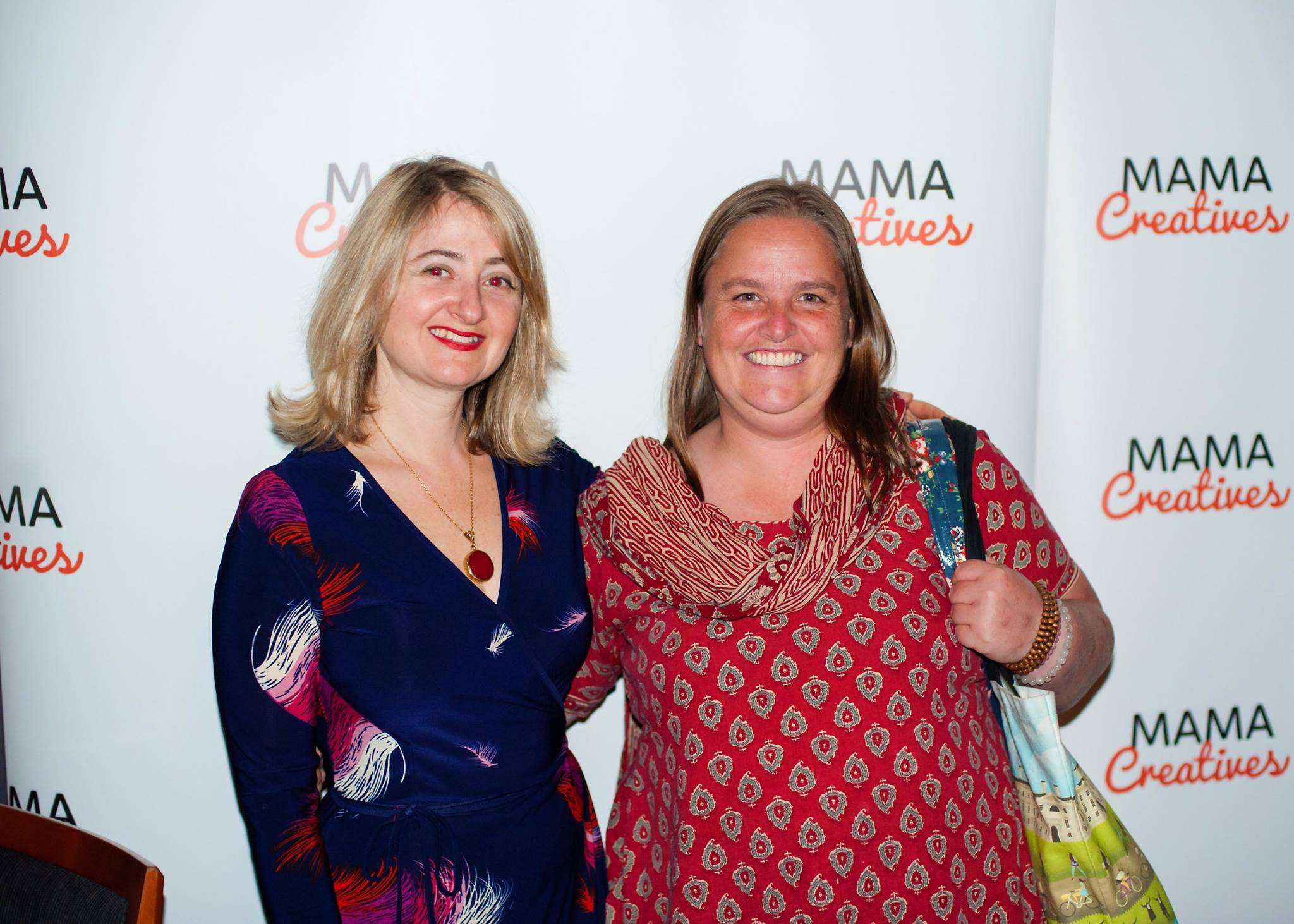 With the very inspiring Bec Ordish, founder of the Mitrataa Foundation, visitng Sydney from Nepal, at our Mama Creatives Evening Talk featuring the fabulous Pauline Nguyen Speaks, writer, restauranteur, spiritual entrepreneur & mentor.