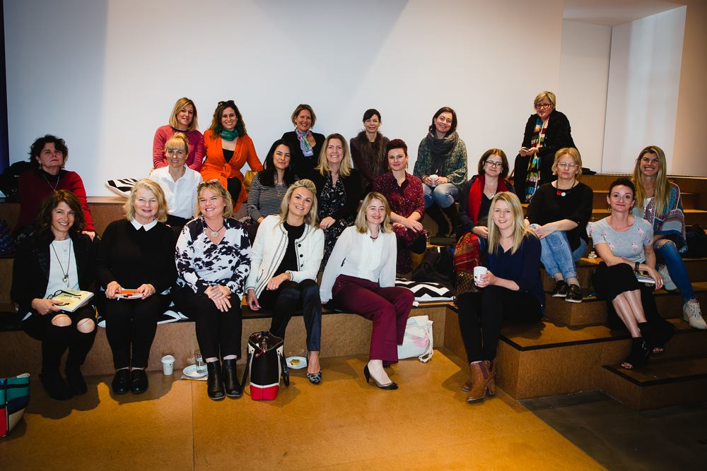 A talented group at our Mama Creatives Masterclass, 'How to win at PR, pitching & the media on your terms' featuring the fabulous Angela Priestley, journalist, editor & publisher Women's Agenda.