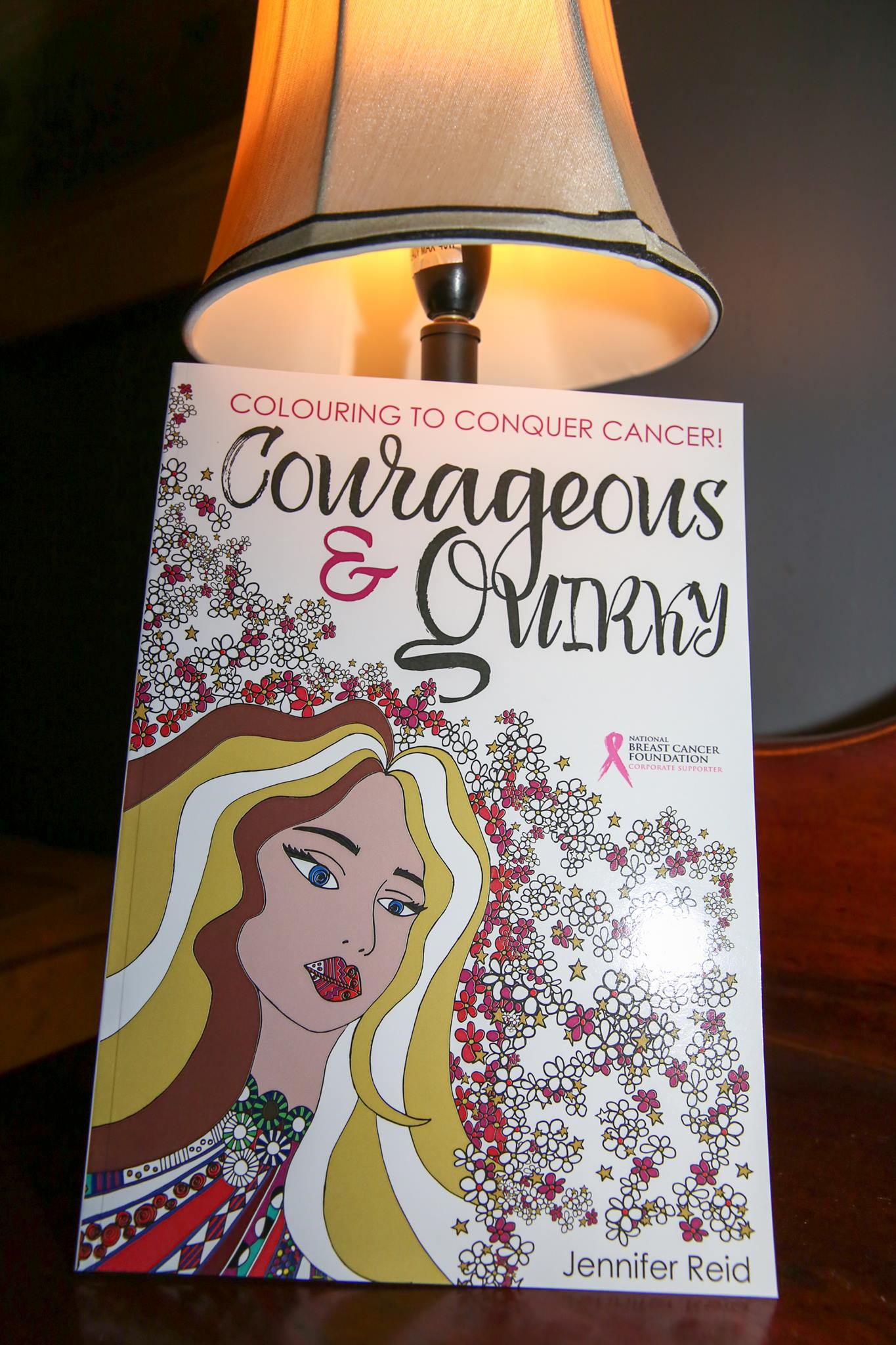 Wonderful giveaways included this inspring book, 'Courageous & Quirky', created by creative mama, artist Jennifer Trad Reid.
