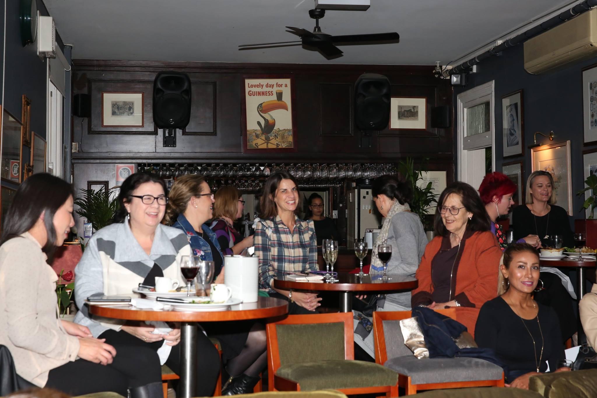 A roomful of creative mamas, at our Mama Creatives evening talk.
