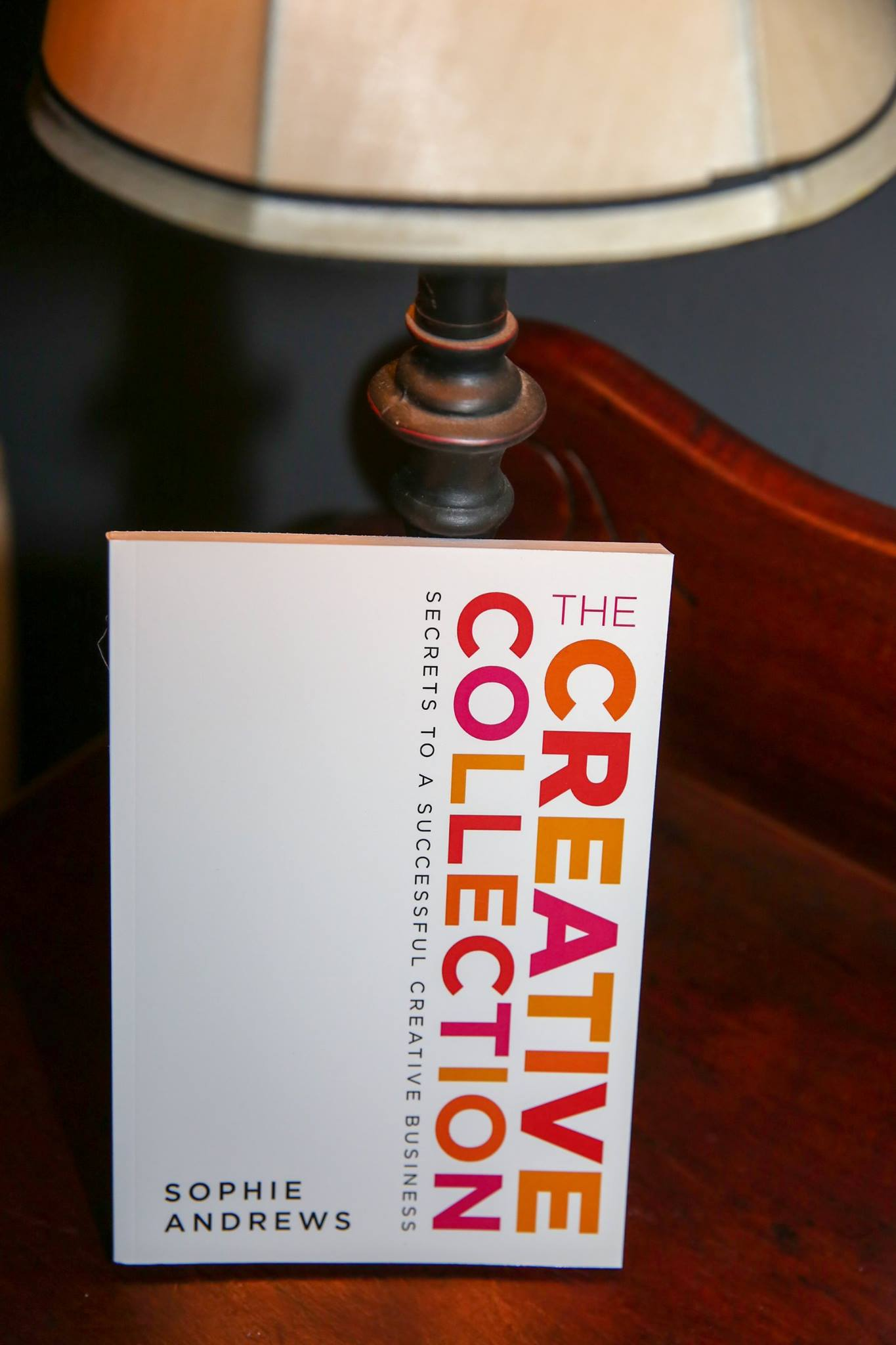 Excellent giveaways included this practical and highly recommended book for every creative, 'The Creative Collection', by Sophie Andrews, founder The Accounts Studio.