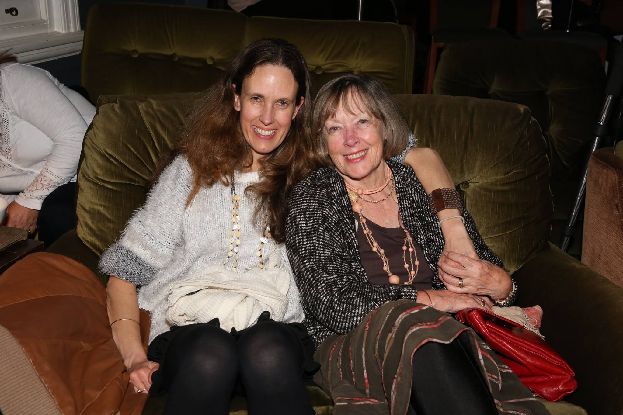 Mother/daughter and previous Mama Creatives presenter, at our evening talk.