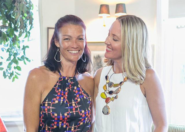 """Tessa White and Kate Sutton, our fabulous featured mamas at our February creative mama evening talk, """"Friendship, collaboration and a successful business partnership"""""""