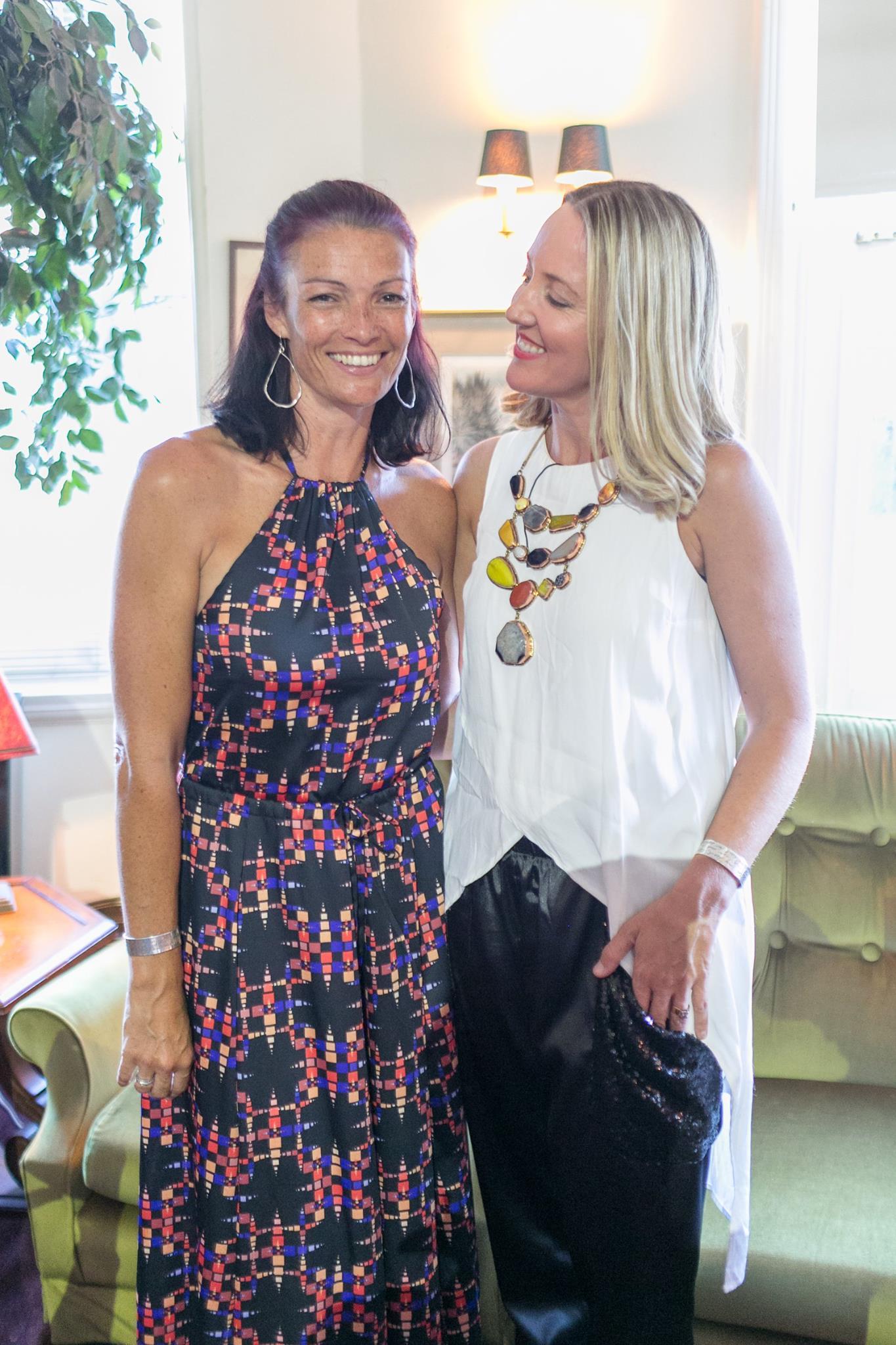 Tessa White and Kate Sutton