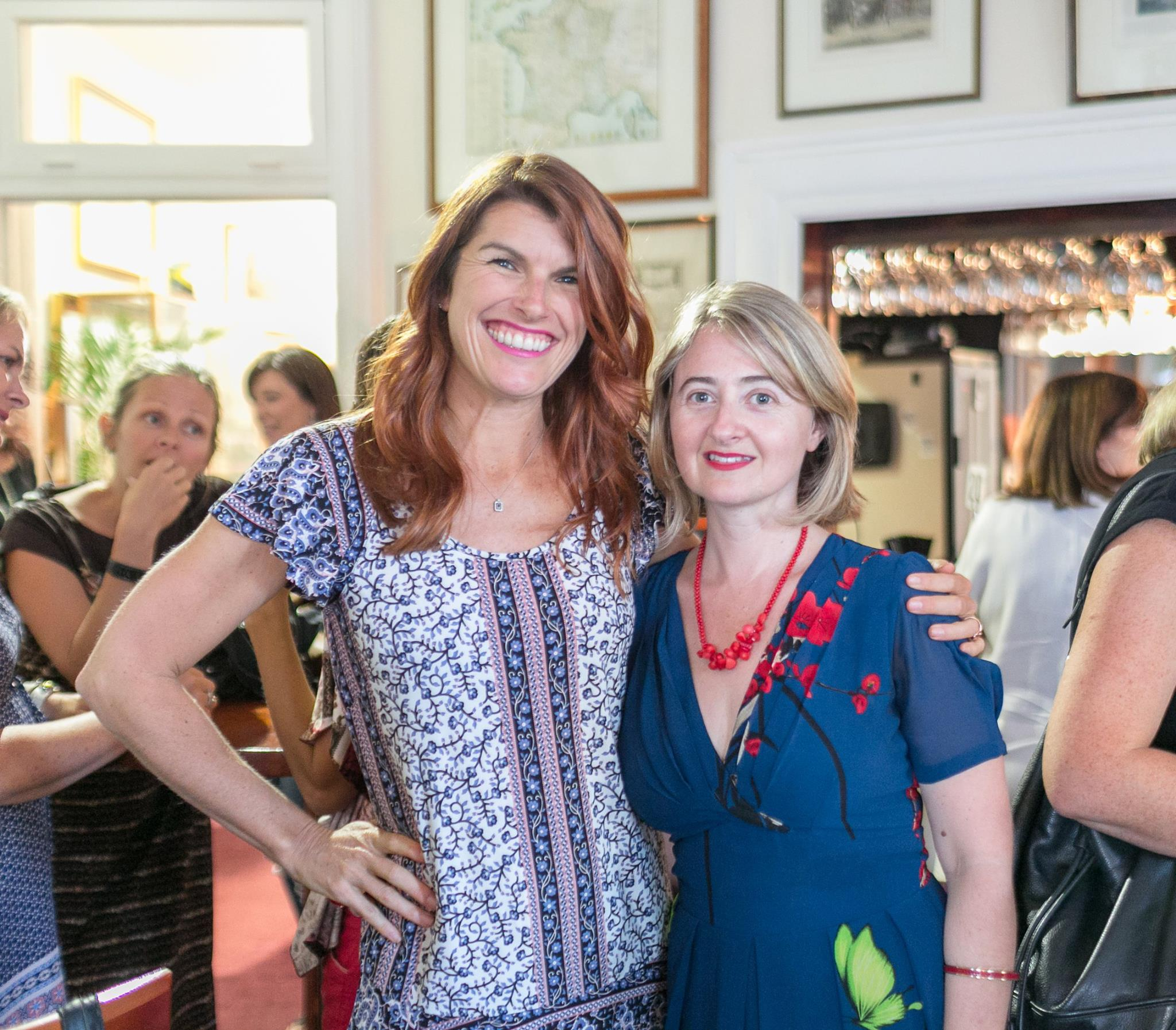 With Lizzy Williamson - presenter at our first Morning Tea Expert Masterclass on Thursday 25 February!