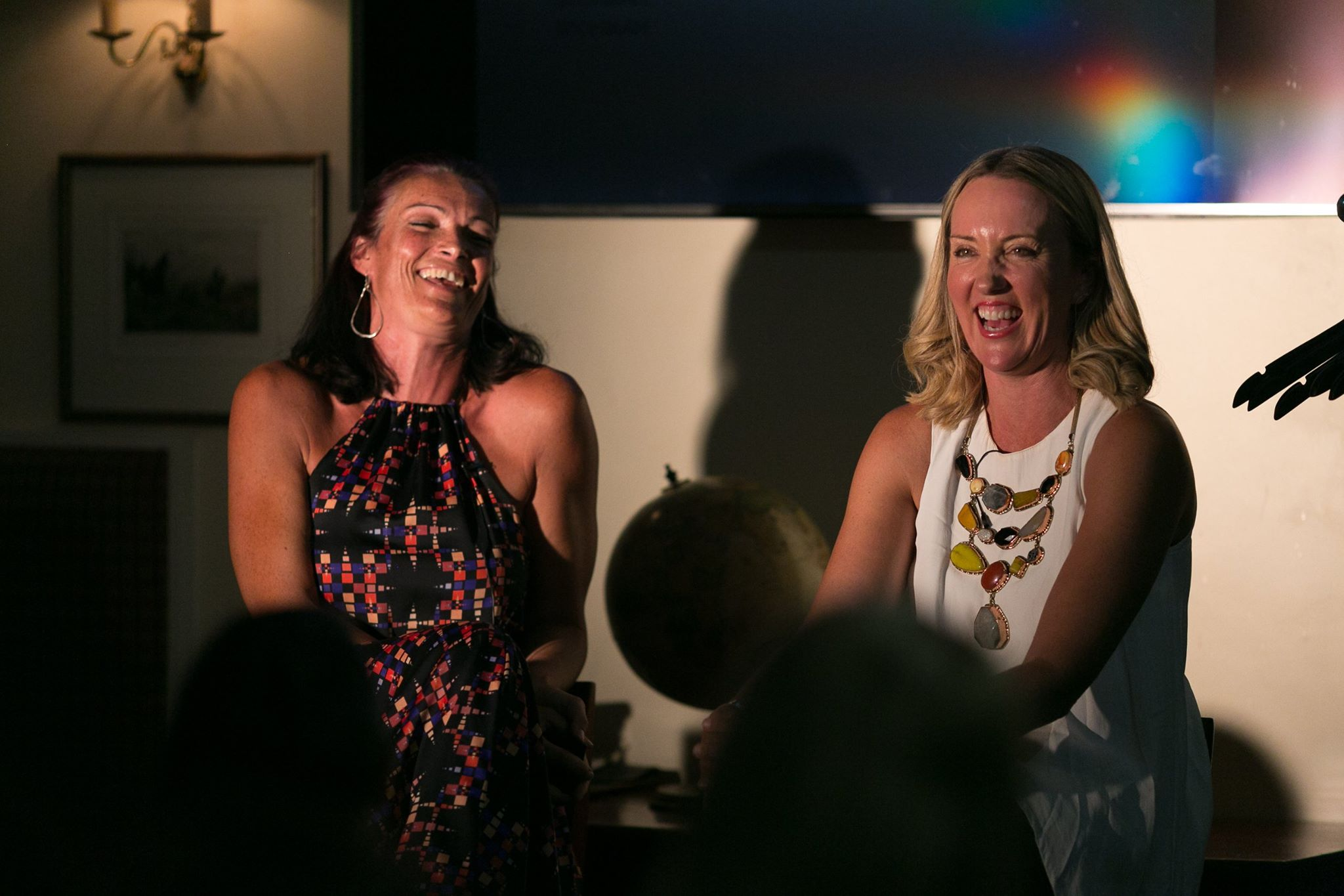 Great storytellers, Tessa White and Kate Sutton