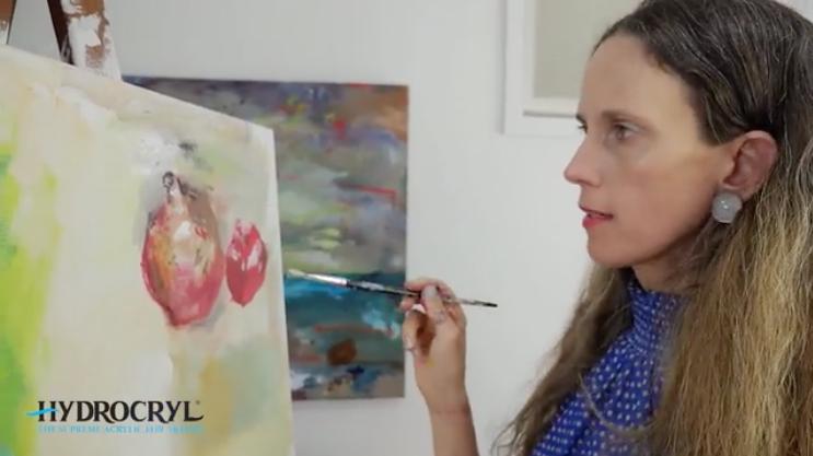 Painting Series with artist Yaeli Ohana