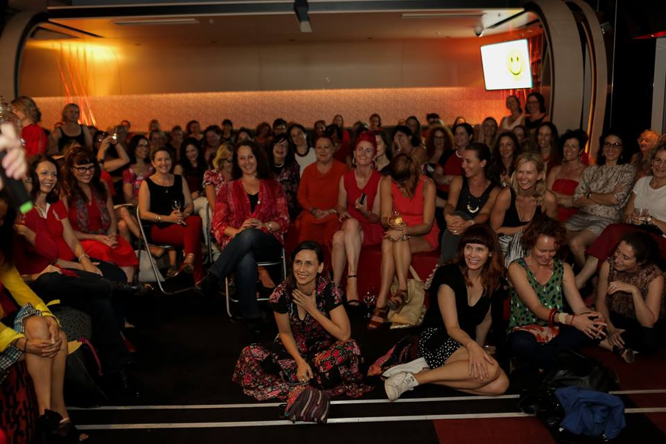 International Women's Day, 'Red Party'. Be bold for change