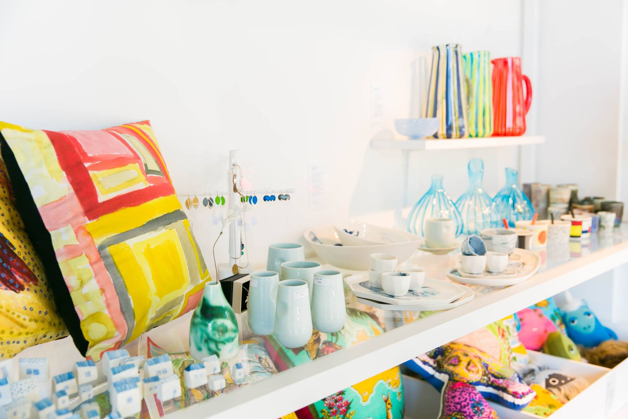 Object Shop at the Australian Design Centre, always full of gorgeous hand made hand crafted goodness. Perfect for Christmas, or anytime.  https://australiandesigncentre.com/