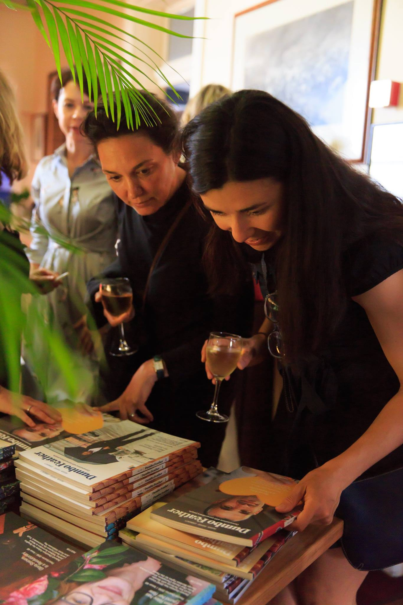Fabulous magazines thanks to the extraordinary Dumbo Feather for all our creative mamas at our 2017 Story Slam finale event.