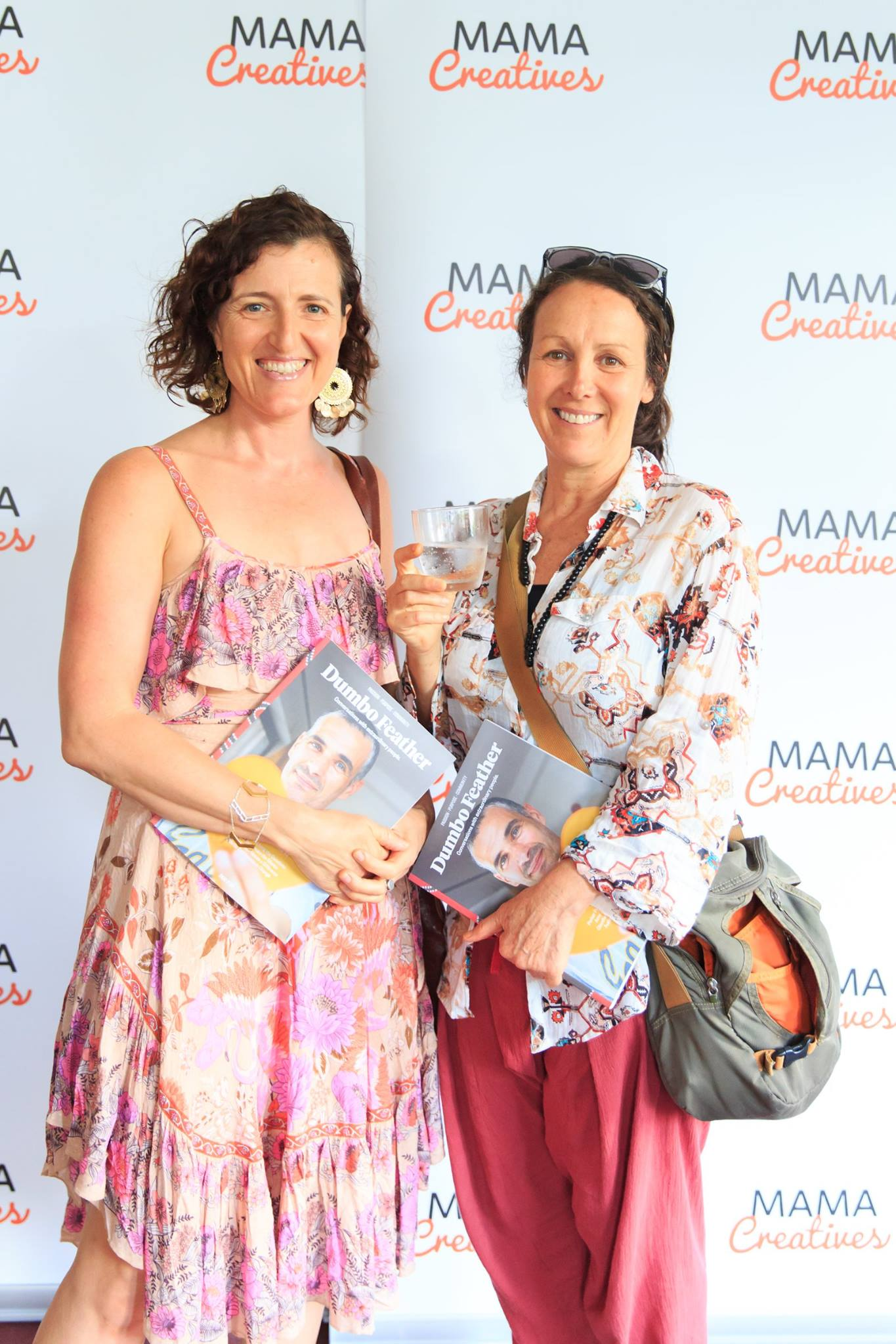 At the Mama Creatives Story Slam, where 6 women from our community shared personal stories about the theme of 'Courage'.  Hosted by Bron Maxabella founder of Maxabella Loves and Mumlyfe