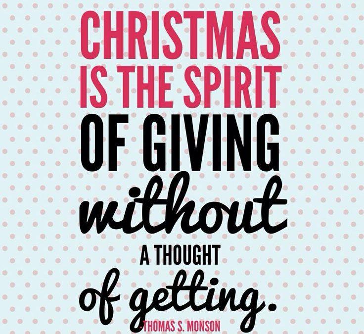 Conscious Christmas: Giving & Receiving